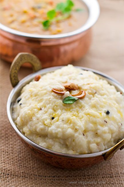 Creamy Ven Pongal (Rice and Lentil 'Risotto')