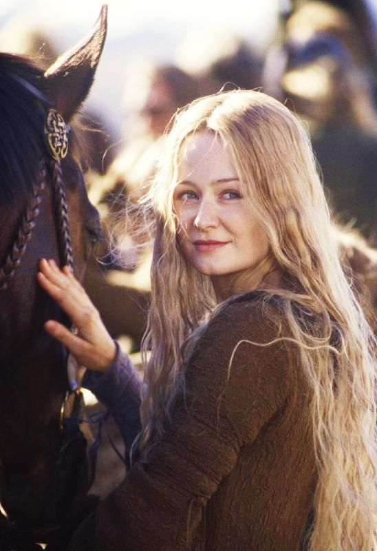 The Lord of the Rings: The Two Towers 2002. Another pinner wrote: liked her character in the films, but wanted her to back off of Arwen's man, Aragorn!