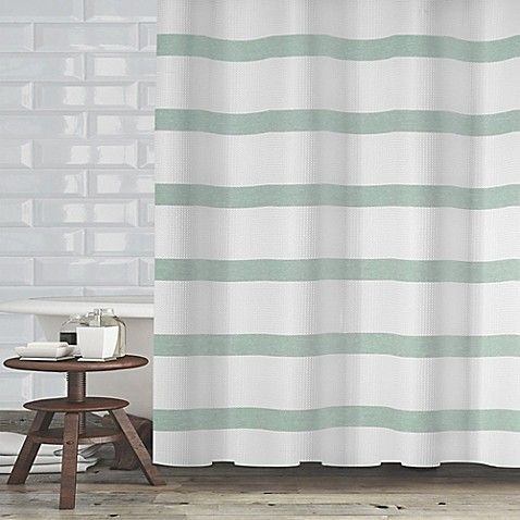 Maluberry Shower Curtain Fabric Shower Curtains Striped Shower