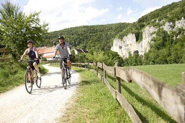 Fahrradtour entlang des Donau-Radweges