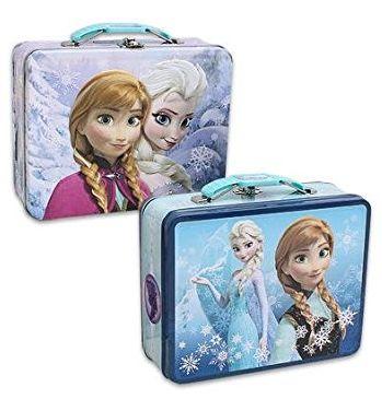 Disney congelado en relieve estaño Lunch Box por sólo $ 6,99!