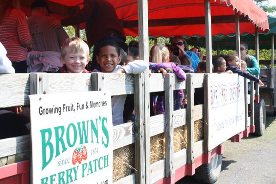 Join in all the bardyard fun at Browns Berry Patch. With pick your own, bouncing pillow, climbing, farm animals and more all summer and fall long. #familyfun