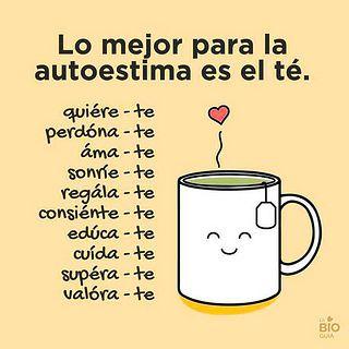 Lo mejor para la autoestima es el té. | Flickr - Photo Sharing!