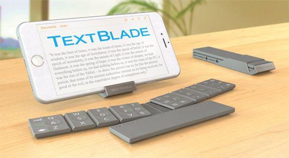 Fotografía - Llega el teclado iOS y Android con TextBlade
