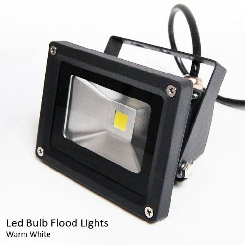 Multi Angle Warm White Waterproof Landscape Outdoor Led Bulb Flood Light Lamp 12v 10w Black Finished By Etoplighting 15 75 High Quality 10w Warm White Led
