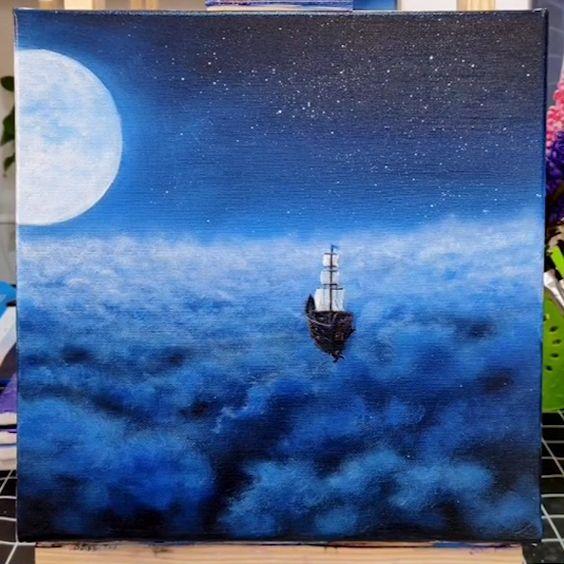 40 Easy Acrylic Painting Ideas On Canvas Tutorials Art Nature