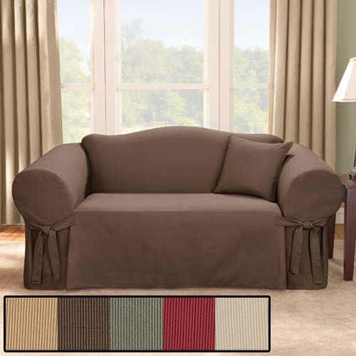 Loveseat covers One piece and Gifts on Pinterest