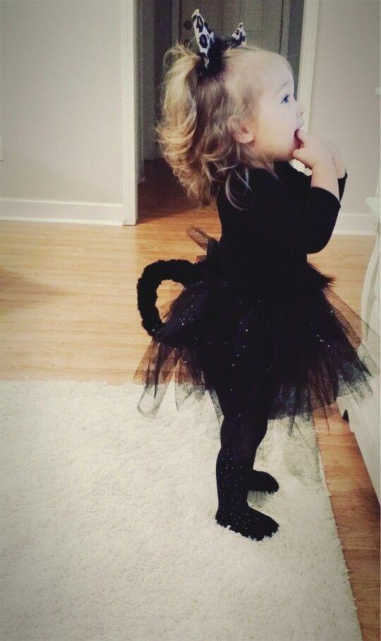 Handmade Kitty Costume For Toddler Girl First Attempt