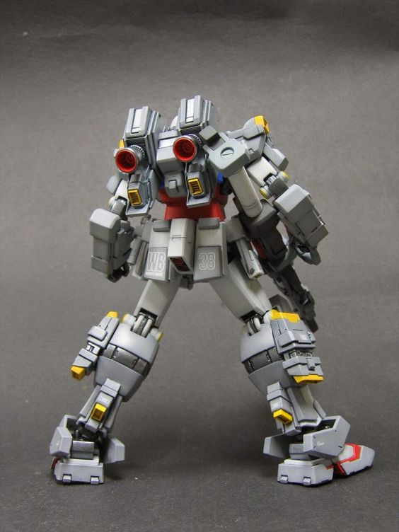 GUNDAM GUY: RX-78 Full Weapons Gundam - Custom Build