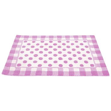 Large Pink Spotty Rug, Rugs and Curtains, Nursery