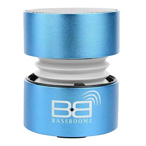 BassBoomz High Performance Portable Bluetooth Speaker - Blue BassBoomz
