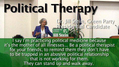 #JillStein #ItsInOurHands www.jill2016.com