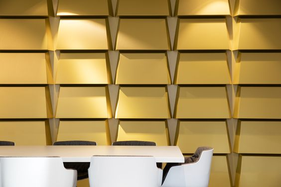 Creative solutions. Soft Cells panels at Dutch National Bank