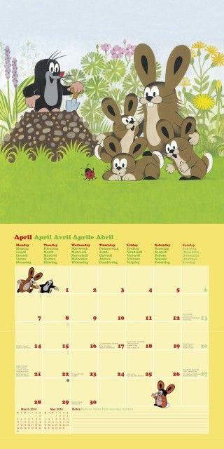 4 - Der kleine Maulwurf Kalender 2014