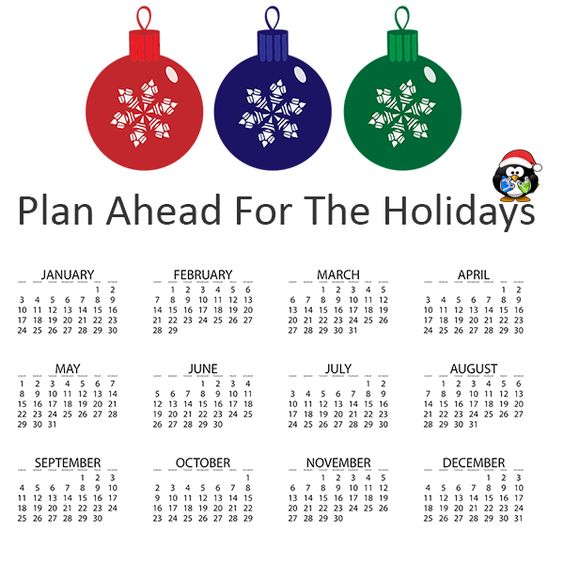 Be ahead of the game and make sure to plan out your emails and promotions ahead of time.