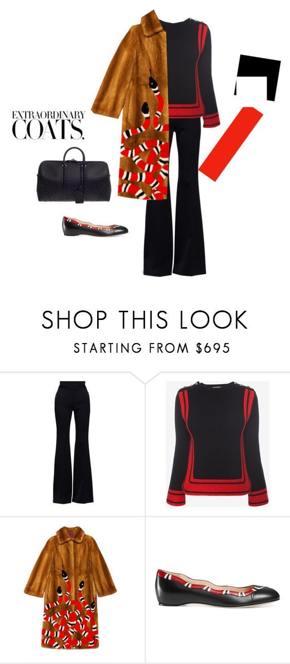 """""""Untitled #796"""" by polyvoresets12 ❤ liked on Polyvore featuring Alexander McQueen, Gucci and Givenchy"""