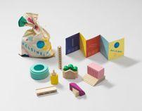 World Design Capital Helsinki 2012 Products by Kokoro & Moi , via Behance