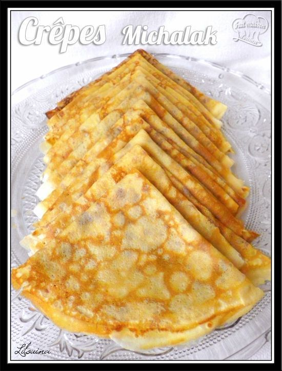 Pâte à crêpes de Michalak Ça y est j'ai trouvé la recette qui tue les autres crêpes !!!!