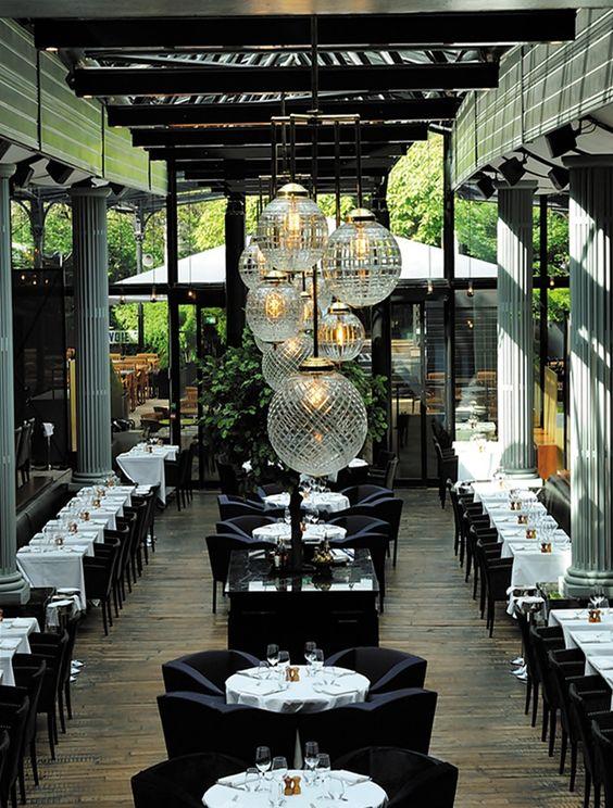 restaurante la gare por laura gonzalez the old design and glasses. Black Bedroom Furniture Sets. Home Design Ideas