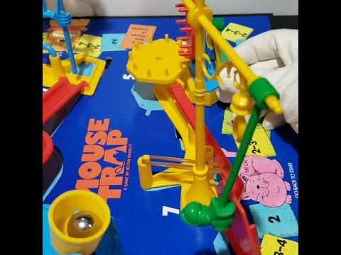 1986 Vintage Mouse Trap Game Video Of Live Trap Youtube In 2020 Mouse Trap Game Mouse Traps Game Video