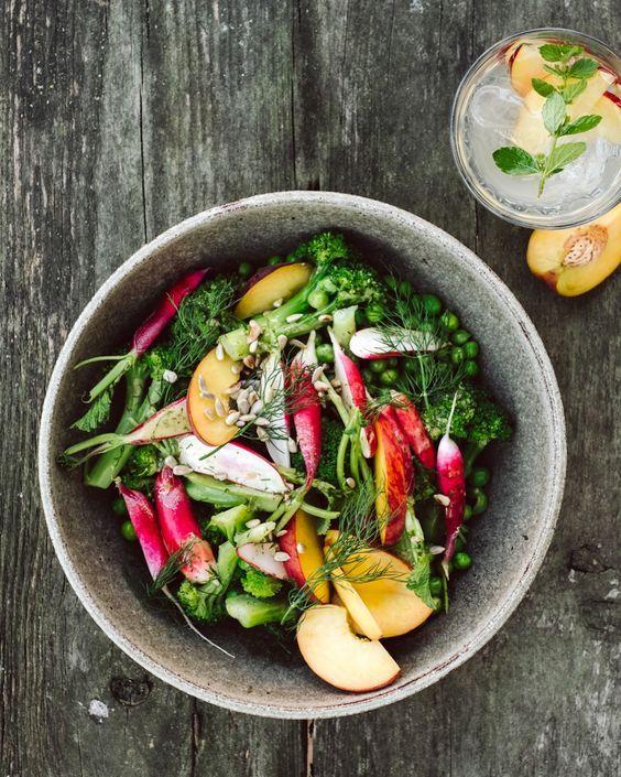Sommersalat Mit Radieschen Krautkopf Salad Recipes Nz Summer Salads Radish Recipes
