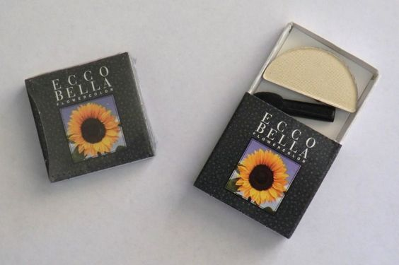 Lot of 2! Ecco Bella Flowercolor Shimmer Dust Moon Refills Full Size .05oz Ivory