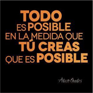 Todo es posible... #Lunes