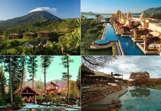Quatro dos dez melhores hotéis do mundo estão na África