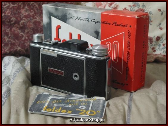 FOLDEX 20 Folding Camera by Pho Tak Co in Box With Original Film In It  IMG 3842 http://ajunkeeshoppe.blogspot.com/