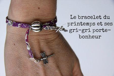 Tuto bracelet printanier