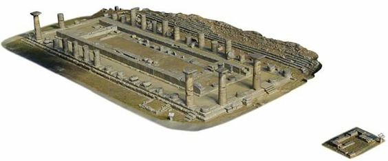 At Olympia, the birthplace of the Olympics, an archaeologist has developed a highly accurate 3-D virtual reconstruction of the Temple of Hera.  archaeology.org/issues/226-1609/features/4759-olympia-heraion-architecture  (Phil Sapirstein/Digital Architecture Project © 2016)