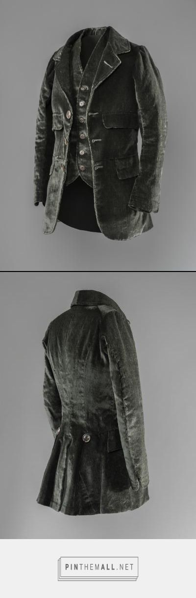 Shooting jacket and vest ca. 1843 From LACMA - created via https://pinthemall.net