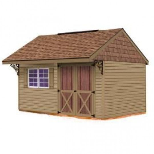 Best Barns Clarion 10 Ft X 14 Ft Prepped For Vinyl Storage Shed Kit Without Floor Clarion 1014 At The Home D In 2020 Vinyl Storage Sheds Storage Shed Kits Best Barns