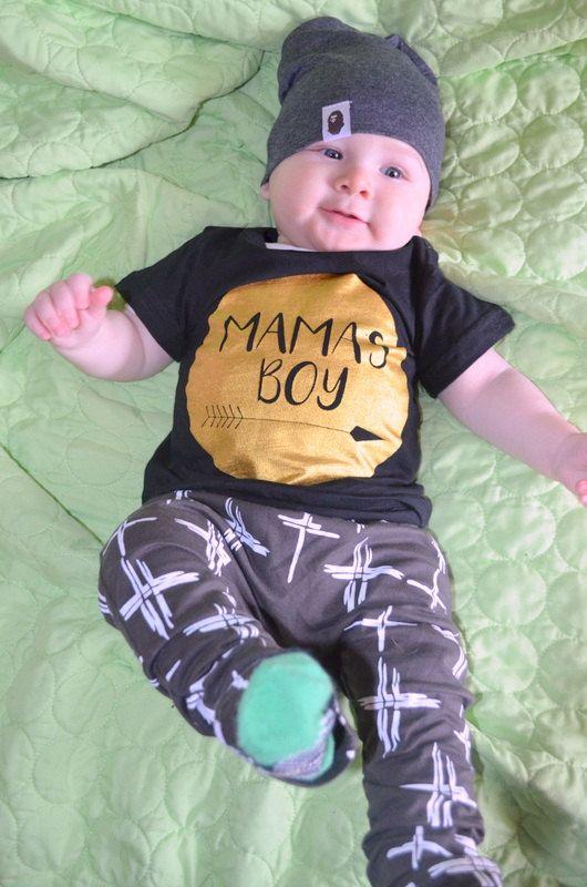 Sa maman garçon bébé garçon Outfit-Harem Pant par LilDivaBowtique1