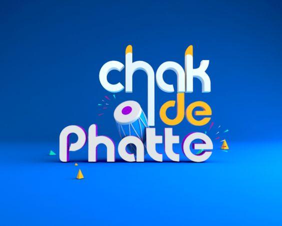 CHAK DE PHATTE_ident on Behance