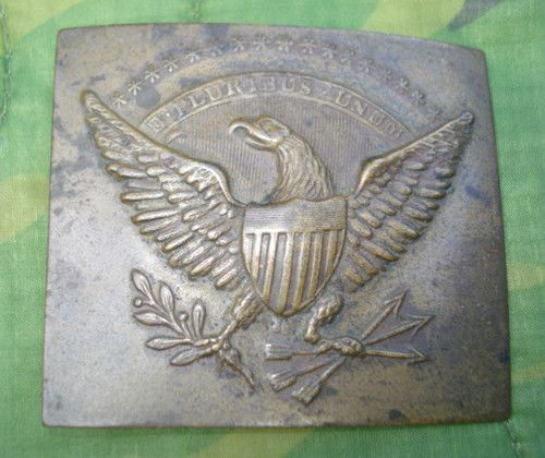 ORIGINAL EARLY CIVIL WAR MILITIA BELT PLATE