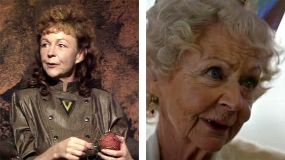Sheila Reid as Etta in 'Vengeance on Varos' and as Clara's gran in 'The Time of the Doctor'