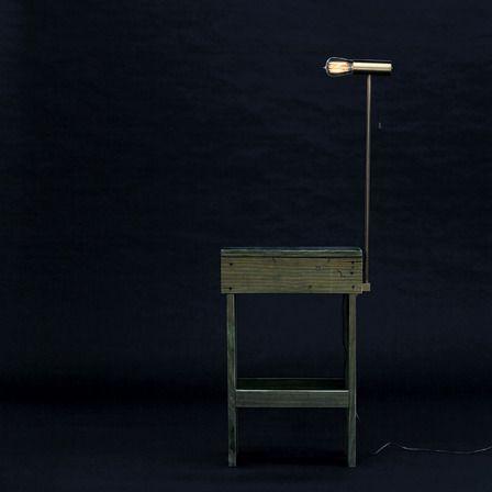 studio mk27, coleção próteses e enxertos, mesa alumiada