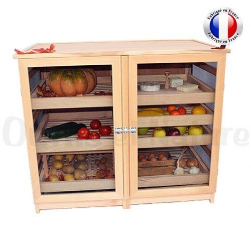 Garde Manger Legumier Fruitier Grand Modele 2 Portes Masy 255 Home Remodeling Home Decor Furniture