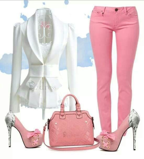 Pretty in pink..