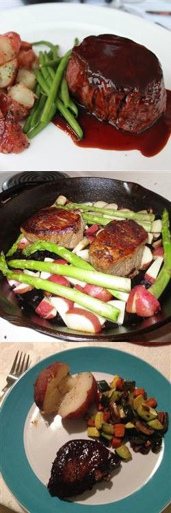 Filet Mignon with Rich Balsamic Glaze – This is an elegant and quick ...