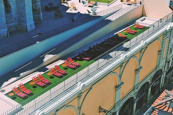 As melhores esplanadas de Lisboa e Porto