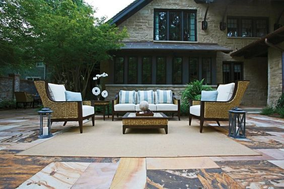 The furniture in our Aqua collection is so beautiful it can be used indoors or out. http://www.summerclassics.com/collections