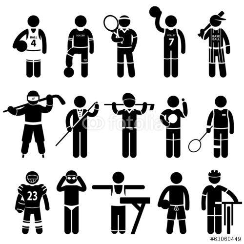 Vektor: Sportswear Sports Clothing Apparel Athlete Wear