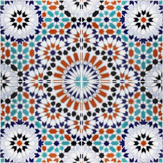 Moorish Wall Tiles And Tile On Pinterest