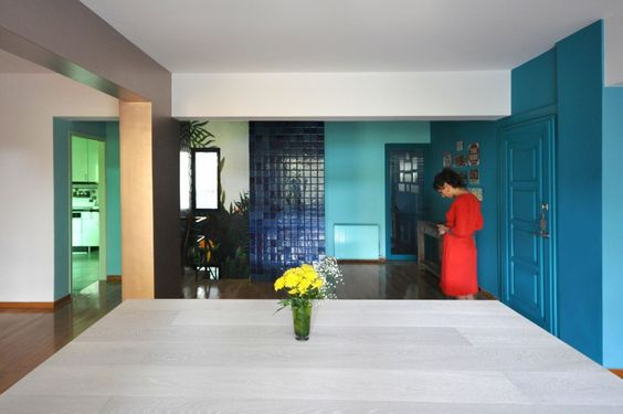 Διαμέρισμα Giorgia. Συνδυασμός από ευρύχωρους και πυκνούς χρηστικούς χώρους
