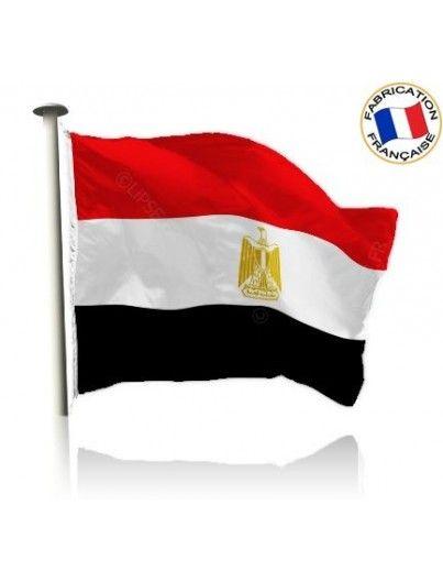 Drapeau Égypte Made In France by Manufêtes