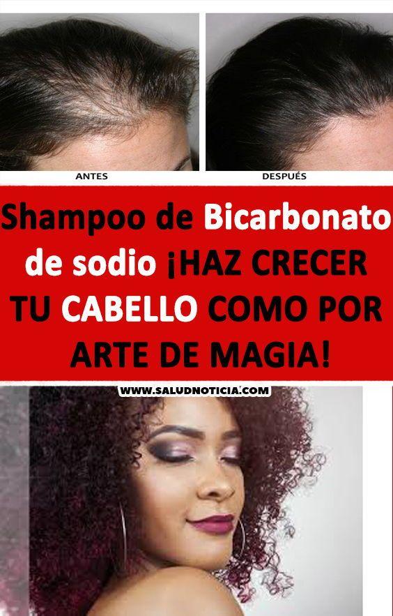 Shampoo De Bicarbonato De Sodio Haz Crecer Tu Cabello Como Por