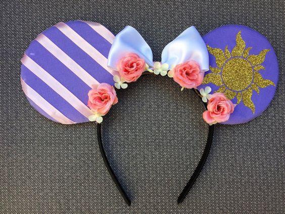 Rapunzel Mickey Ears by GwizzyEars on Etsy | Crafts ️ ...