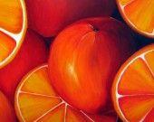 Tableau peinture de fruits pour décoration moderne : Décorations murales par youcomme